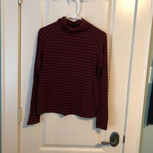 Striped Turtleneck from Forever 21